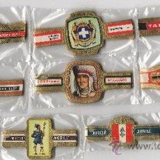 Vitolas de colección: BONITO LOTE COMPUESTO POR 10 SERIES DE VITOLAS TODAS DIFERENTES Y COMPLETAS. Lote 34492490