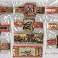 Vitolas de colección: BONITO LOTE COMPUESTO POR 10 SERIES DE VITOLAS TODAS DIFERENTES Y COMPLETAS. REBAJADO. Lote 34516469