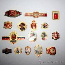 Vitolas de colección: LOTE DE VITOLAS DE PUROS. Lote 36059518