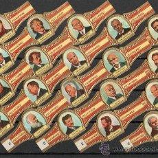 Vitolas de colección: VITOLAS. SERIE CLÁSICA COMPLETA (171 UNIDADES). ALVARO. INVENTORES.. Lote 36712458