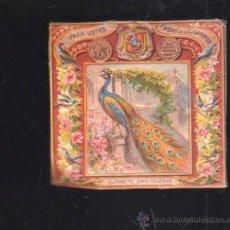 Vitolas de colección: CUBA. VISTA DE TABACO. 1860. IMP.ALEMANA. LAS PRIMERAS VISTAS QUE SE HICIERON PARA MERCADO CUBANO.. Lote 37993233