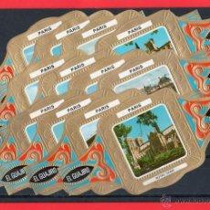 Vitolas de colección: VITOLAS. SERIE DE VITOLAS COMPLETA (12 VITOLAS). EL GUAJIRO. CIUDADES DEL MUNDO. PARÍS.. Lote 39434189