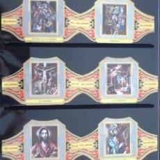 Vitolas de colección: VITOLAS ALVARO EL GRECO (CUADROS DE PINTORES ESPAÑOLES). COMPLETA 12 VITOLAS.. Lote 39435555