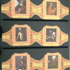 Vitolas de colección: VITOLAS ALVARO RIBERA (CUADROS DE PINTORES ESPAÑOLES). COMPLETA 12 VITOLAS.. Lote 39435820