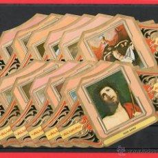 Vitolas de colección: VITOLAS. SERIE CLÁSICA COMPLETA (12 UNID.) CUADROS DE PINTORES ESPAÑOLES. RIBERA II.. Lote 39484338