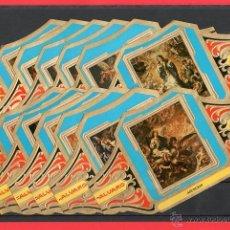 Vitolas de colección: VITOLAS. SERIE COMPLETA (12 UNID). ALVARO. CUADROS DE PINTORES ESPAÑOLES. VALDÉS LEAL. GRAN FORMATO.. Lote 39484616