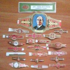 Vitolas de colección: LOTE DE VITOLAS Y OTROS DE PAPEL . Lote 39804232