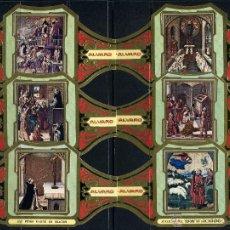Vitolas de colección: VITOLAS ALVARO - CUADROS DE BERRUGUETE (12 VITOLINAS). Lote 40798994