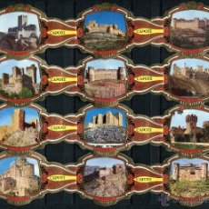 Vitolas de colección: VITOLAS CAPOTE - CASTILLOS DE ESPAÑA (24 VITOLINAS). Lote 41134822