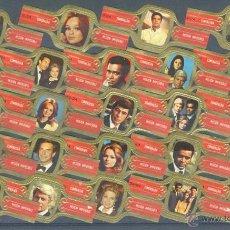 Vitolas de colección: LA ESMERALDA .- MISION IMPOSIBLE (SERIE DE TELEVISION) (24 VITOLAS) .- SERIE COMPLETA. Lote 41350036