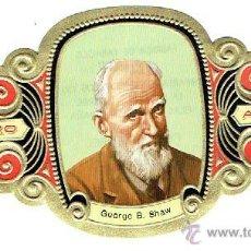 Vitolas de colección: VITOLA ALVANO - GEORGE B.SHAW. Lote 41403825