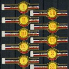 Vitolas de colección: VITOLAS ECUADOR - DOCE HORAS (12 VITOLAS). Lote 47657868