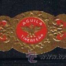 Anéis de charuto de coleção: VITOLA CLASICA .- MARCA: AGUILA TINERFEÑA DE M. MORALES CLAVIJO (CANARIAS) . Lote 42101457