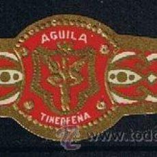 Anéis de charuto de coleção: VITOLA CLASICA .- MARCA: AGUILA TINERFEÑA DE M. MORALES CLAVIJO (CANARIAS) . Lote 42101481