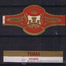 Anéis de charuto de coleção: VITOLA CLASICA .- MARCA: AGUERE (CANARIAS) .- CONJUNTO DE 2 VITOLAS . Lote 42247502