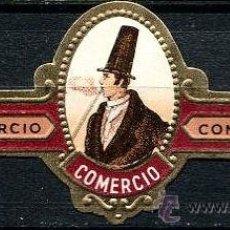 Vitolas de colección: VITOLA COMERCIO - HOMBRE CON SOMBRERO. Lote 43029791