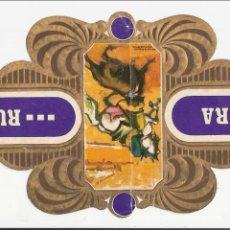 Vitolas de colección: VITOLA GRANDE MARCA RUMBO - SOLISOMBRA. Lote 44144755