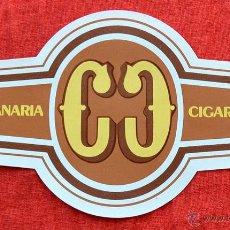 Vitolas de colección: VITOLA CIGARCANARIA - TAMAÑO GRANDE. Lote 44275011