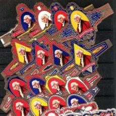 Vitolas de colección: MAGNIFICA COLECCÍON DE LAS 65 SERIES HOLANDESAS DE JORGE WASHINTONG CON UN TOTAL DE 3.229 VITOLAS.. Lote 44923548