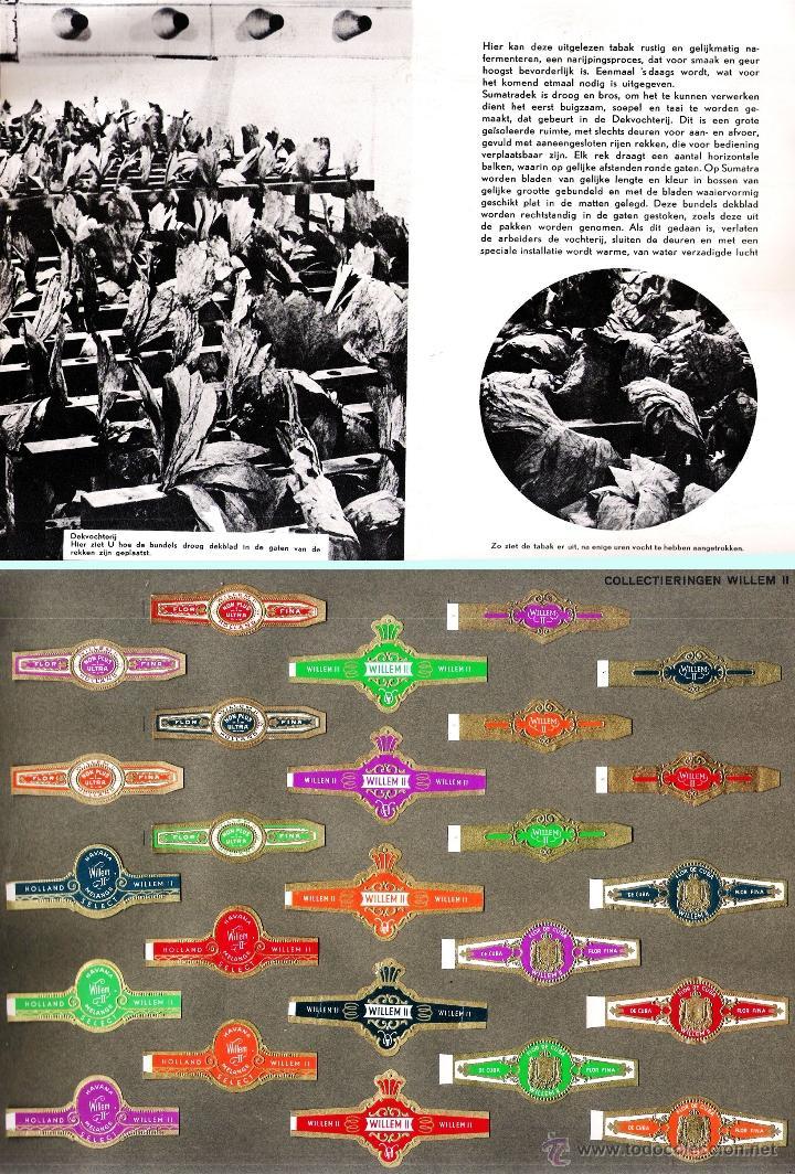 Vitolas de colección: ALBUM VITOLARIO GENERAL de WILLEM II HECHO EN HOLANDA EN 1959, TODAS NUMERADAS EN TOTAL 675 ANILLAS. - Foto 4 - 44956404