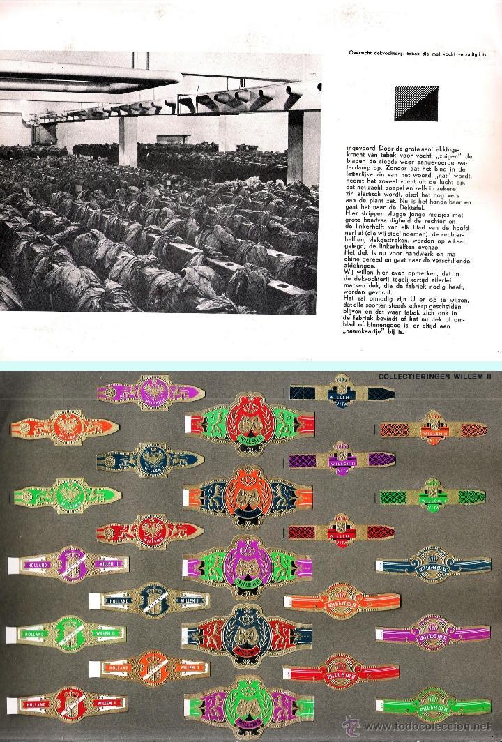 Vitolas de colección: ALBUM VITOLARIO GENERAL de WILLEM II HECHO EN HOLANDA EN 1959, TODAS NUMERADAS EN TOTAL 675 ANILLAS. - Foto 5 - 44956404