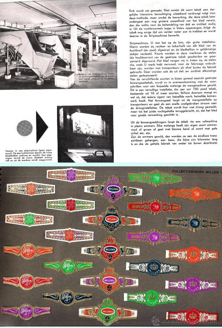 Vitolas de colección: ALBUM VITOLARIO GENERAL de WILLEM II HECHO EN HOLANDA EN 1959, TODAS NUMERADAS EN TOTAL 675 ANILLAS. - Foto 7 - 44956404