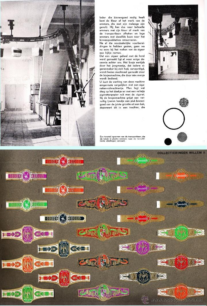 Vitolas de colección: ALBUM VITOLARIO GENERAL de WILLEM II HECHO EN HOLANDA EN 1959, TODAS NUMERADAS EN TOTAL 675 ANILLAS. - Foto 8 - 44956404