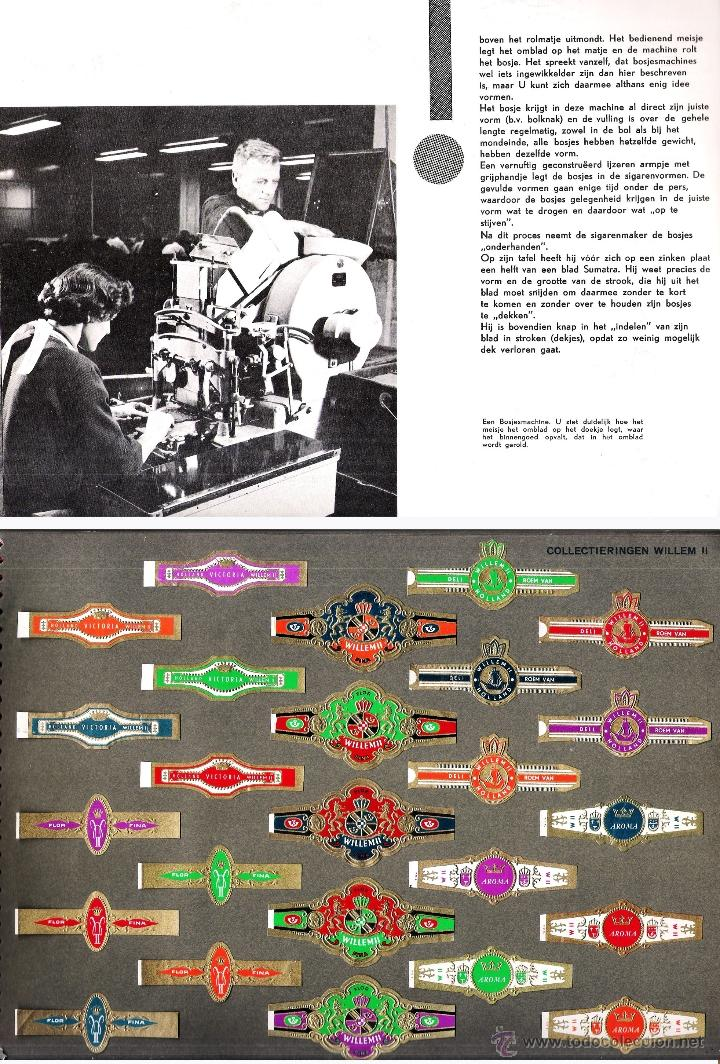 Vitolas de colección: ALBUM VITOLARIO GENERAL de WILLEM II HECHO EN HOLANDA EN 1959, TODAS NUMERADAS EN TOTAL 675 ANILLAS. - Foto 9 - 44956404