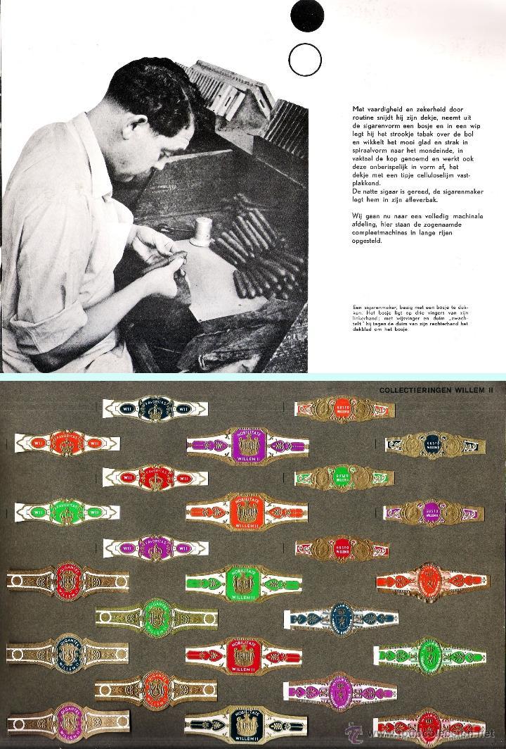 Vitolas de colección: ALBUM VITOLARIO GENERAL de WILLEM II HECHO EN HOLANDA EN 1959, TODAS NUMERADAS EN TOTAL 675 ANILLAS. - Foto 10 - 44956404