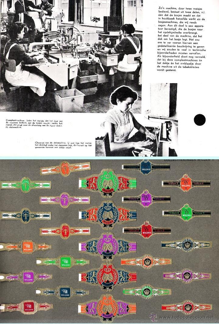Vitolas de colección: ALBUM VITOLARIO GENERAL de WILLEM II HECHO EN HOLANDA EN 1959, TODAS NUMERADAS EN TOTAL 675 ANILLAS. - Foto 11 - 44956404