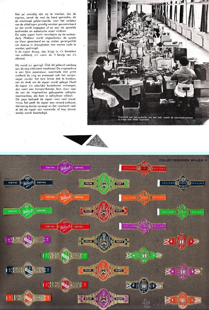 Vitolas de colección: ALBUM VITOLARIO GENERAL de WILLEM II HECHO EN HOLANDA EN 1959, TODAS NUMERADAS EN TOTAL 675 ANILLAS. - Foto 12 - 44956404