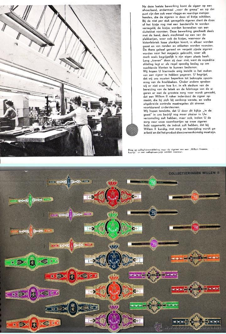 Vitolas de colección: ALBUM VITOLARIO GENERAL de WILLEM II HECHO EN HOLANDA EN 1959, TODAS NUMERADAS EN TOTAL 675 ANILLAS. - Foto 13 - 44956404