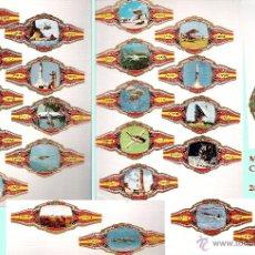 Vitolas de colección: LA CONQUISTA DEL ESPACIO - 24 VITOLINAS DE LA MARCA PEDRO CAPOTE ESPAÑA.. Lote 45301770