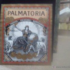 Vitolas de colección: HABILITACIÓN-VITOLA. PALMATORIA. TABACOS. PRIMEROS. SUPERIORES. . Lote 45850620