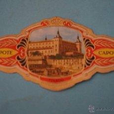 Vitolas de colección: VITOLA DE:CIUDAD,TOLEDO,SERIE A,Nº19,DE CAPOTE. Lote 51451875