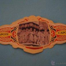 Vitolas de colección: VITOLA DE:CIUDAD,TARRAGONA,SERIE B,Nº23,DE CAPOTE. Lote 62795547