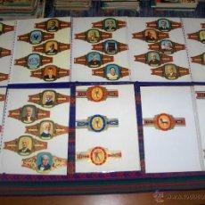 Vitolas de colección: CIENTOS DE VITOLAS ÁLVARO CAPOTE TAF CARAIBE MORRITA VIEIL ANVERS GRAAF TILLY ROMANO UILTJE RIMBOU... Lote 46166060
