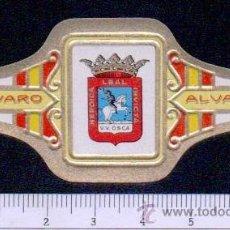 Anéis de charuto de coleção: VITOLA.ALVARO.SERIE : ESCUDOS PROVINCIAS DE ESPAÑA.Nº 24. Lote 46203630