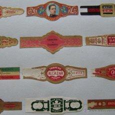 Vitolas de colección: LOTE DE 188 ANTIGUAS VITOLAS HABANA CUBA. Lote 46625099