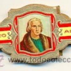 Vitolas de colección: 14-1625. VITOLAS ALVARO. SERIE DESCUBRIMIENTO DE AMÉRICA. Lote 46636389