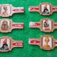 Vitolas de colección: VITOLAS LA FAMA SERIE DIOSES Y FARAONES. Lote 46760882