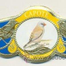 Vitolas de colección: 14-1644. VITOLAS CAPOTE. SERIE AVES DE CANARIAS, SERIE 2ª. Lote 47184127