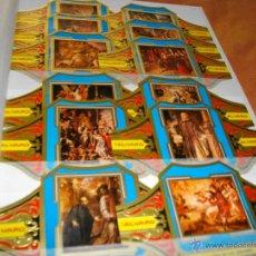 Vitolas de colección: PRECIOSA SERIE COMPLETA DE ALVARO TAMAÑO GRANDE COLECCION CUADROS DE PINTORES ESPAÑOLES VALDES LEAL . Lote 47996360