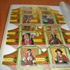 Vitolas de colección: PRECIOSA SERIE COMPLETA DE ALVARO TAMAÑO GRANDE COLECCION CUADROS DE PINTORES ESPAÑOLES BERRUGUETE. Lote 47996616