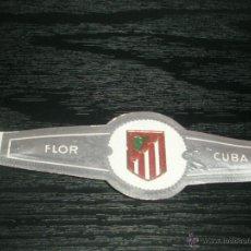 Vitolas de colección: -VITOLA FLOR CUBA ANTIGUA : EQUIPO FUTBOL AT.MADRID. Lote 48290043