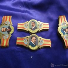 Vitolas de colección: VITOLAS ALVARO. SERIE PINTORES. SERIE COMPLETA. 200 VITOLAS. Lote 48615700