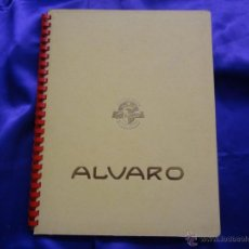 Vitolas de colección: ALBUM ALVARO CON 3 SERIES COMPLETAS. 60 VITOLAS. Lote 48623609