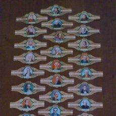 Vitolas de colección: COLECCION VITOLAS ALVARO-SERIE LITERATOS ESPAÑOLES. Lote 49519654