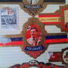 Vitolas de colección: HITLER Y MUCHAS MAS VITOLAS. Lote 49543110