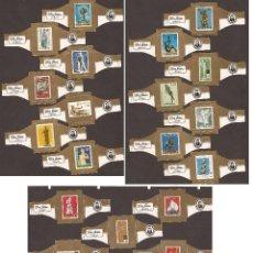 Vitolas de colección: GOM-246_VITOLAS SUELTAS DON JULIAN, EUROPA I Y II 1974. Lote 51187813